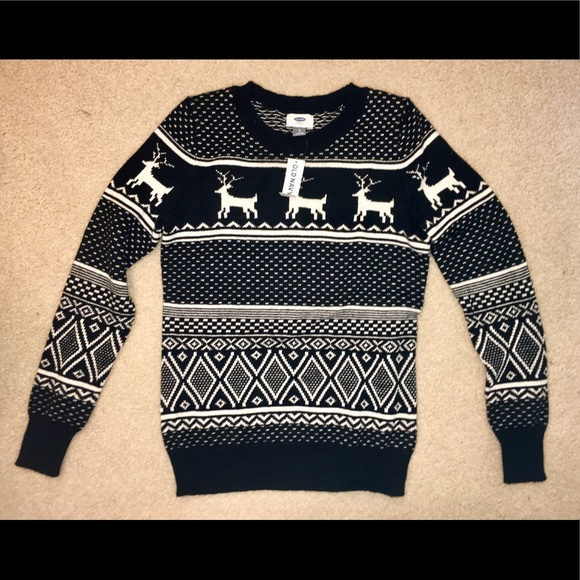 Old Navy Sweaters Crewneck Christmas Sweater Poshmark